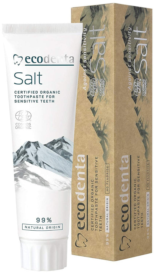 ECODENTA Toothpaste With Natural Salt, 100ml exxab.com