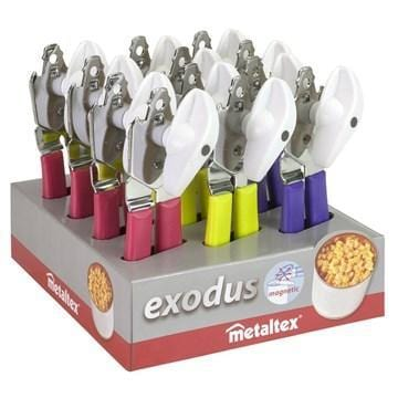METALTEX EXODUS Stainless steel Silver Can opener exxab.com