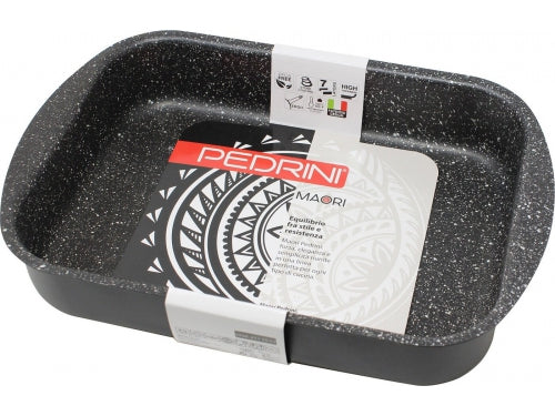 Pedrini Granite MAORI Color Square Roaster Pan 30*22cm exxab.com