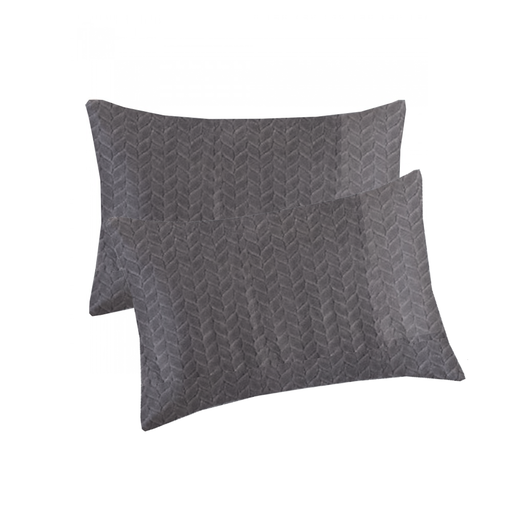 Warm Fleece Pillow Case Set Of 2 pcs exxab.com