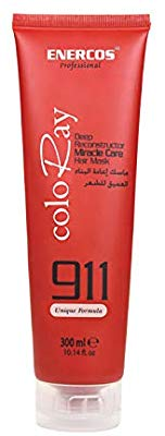 Enercos 911 Coloray Deep Reconstor Miracle Care Hair Mask, 300 ml exxab.com