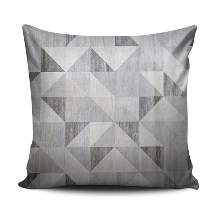 Home decoration cushion with modern grey pattern - exxab.com