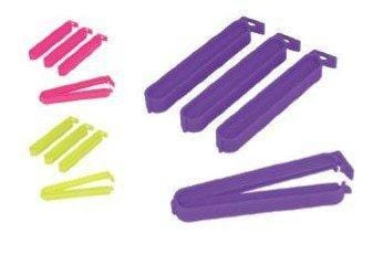 METALTEX Set of 4 plastic bag clips exxab.com