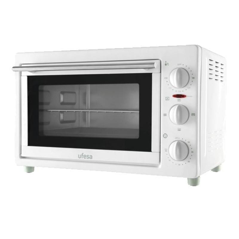 Ufesa HE9022 Silver toaster oven with rotisserie 22L 1500W