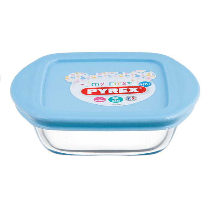 Pyrex kids glass round dish with lid exxab.com