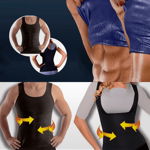 Sweat Shaper Sauna Vest For Weight Loss exxab.com