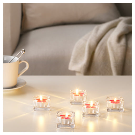 Scented Tealight, Red Garden Berries, Red (30 pack) exxab.com