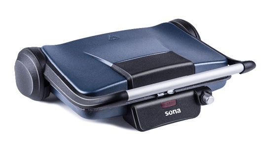 Sona SGT39E Electric grill with detachable and non-stick coated plates ,1800 Watt