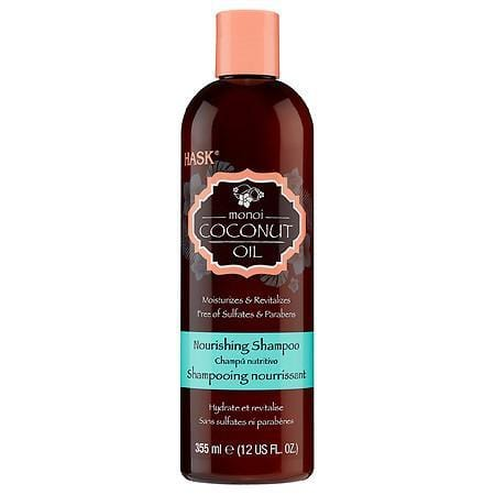 Hask Monoi Coconut Oil Nourishing Shampoo & Conditioner 12 FL.OZ