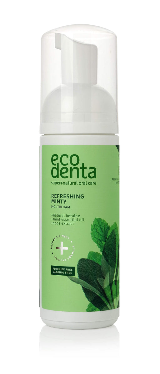 ECODENTA Refreshing Minty Mouth foam, 150ml exxab.com