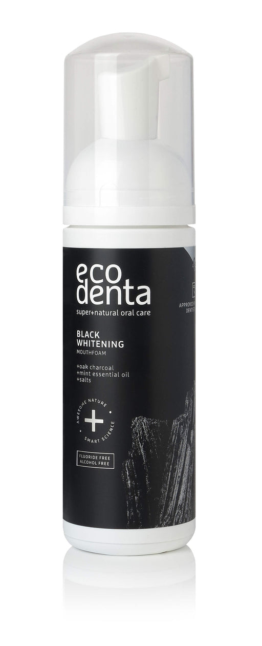 ECODENTA Black Whitening Mouth foam, 150ml exxab.com