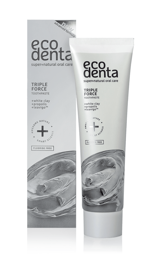 ECODENTA Triple Force Toothpaste, 100ml exxab.com