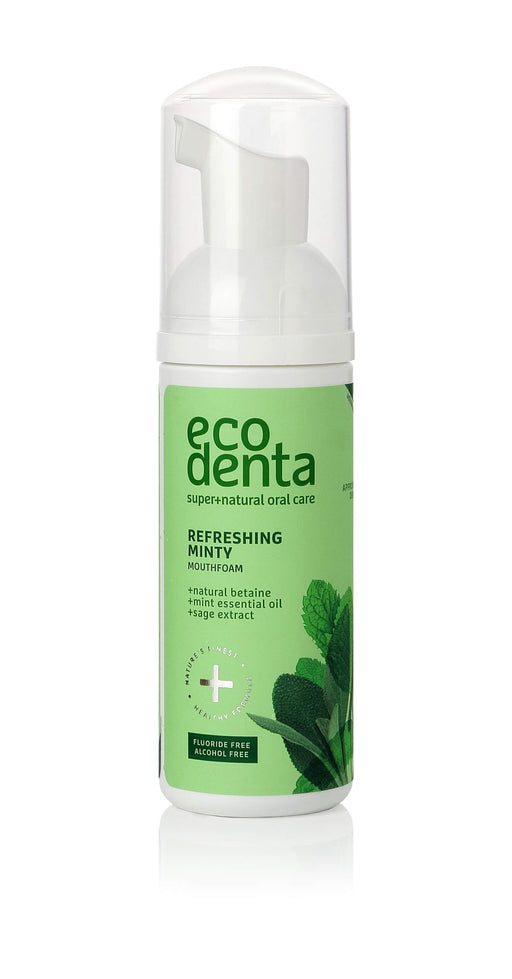 ECODENTA Refreshing Minty Mouth foam, 50ml exxab.com