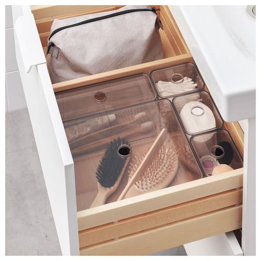 Makeup Organizer with Transparent lid, set of 5 pieces exxab.com