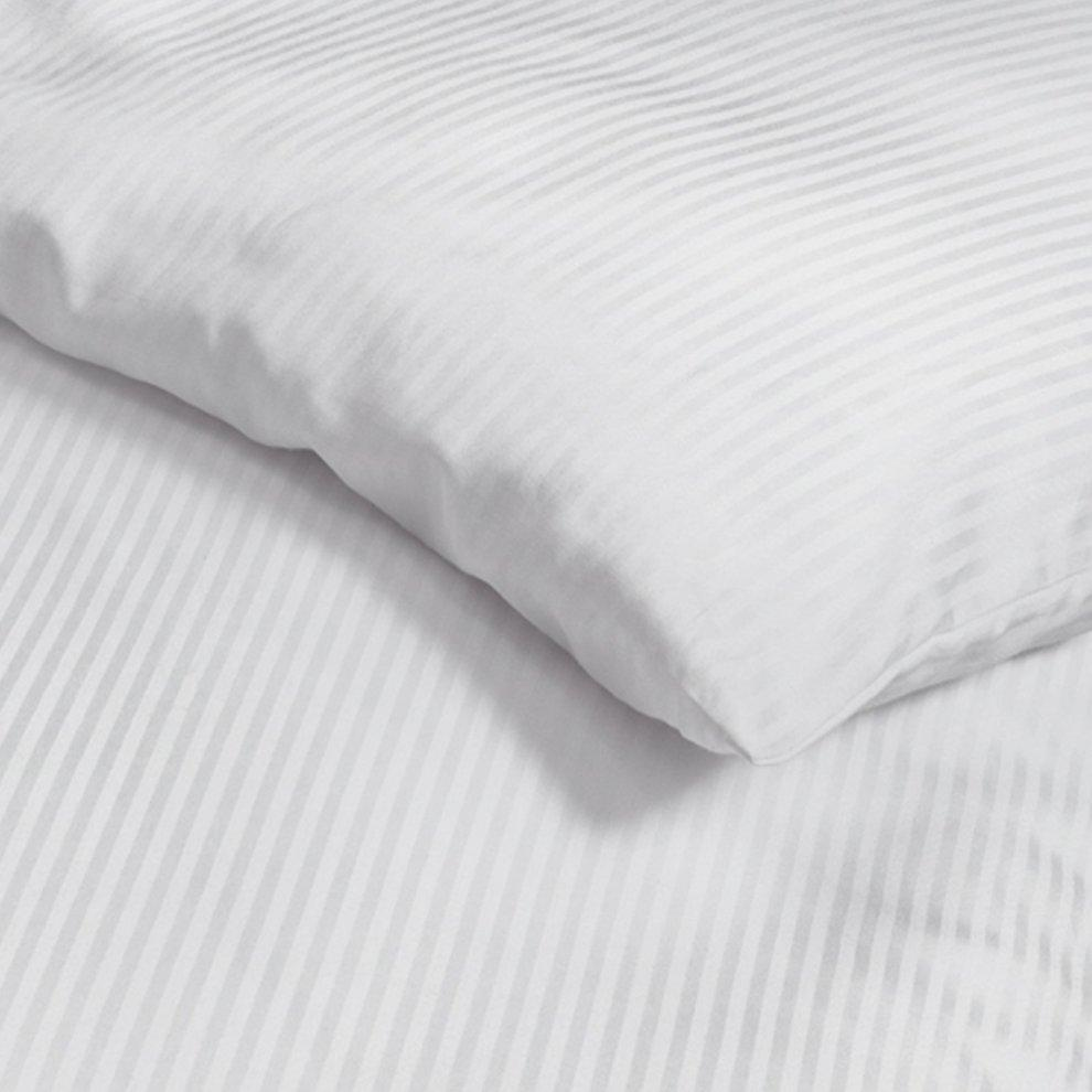 Hotel luxury twin white bed sheets set 300 tc 100% cotton exxab.com