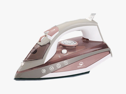 Home Electric HIT-83 Steam Iron 2200W Baby Pink