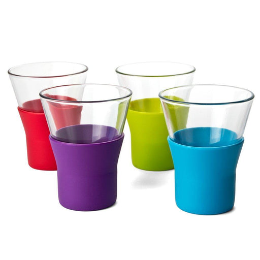 Bormioli Rocco 340400 colored silicone coffee-cappuccino & nescafe glasses 1 Piece exxab.com
