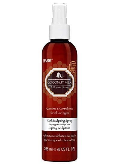 Hask Coconut Milk & Organic Honey Curl Sculpting Spray 8 fl.oz - exxab.com