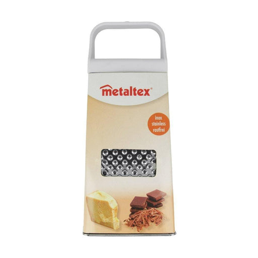 Metaltex 4 sided Stainless-Steel Grater exxab.com