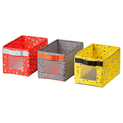 ANGELÄGEN Storage Box Set Of 3 Pieces exxab.com
