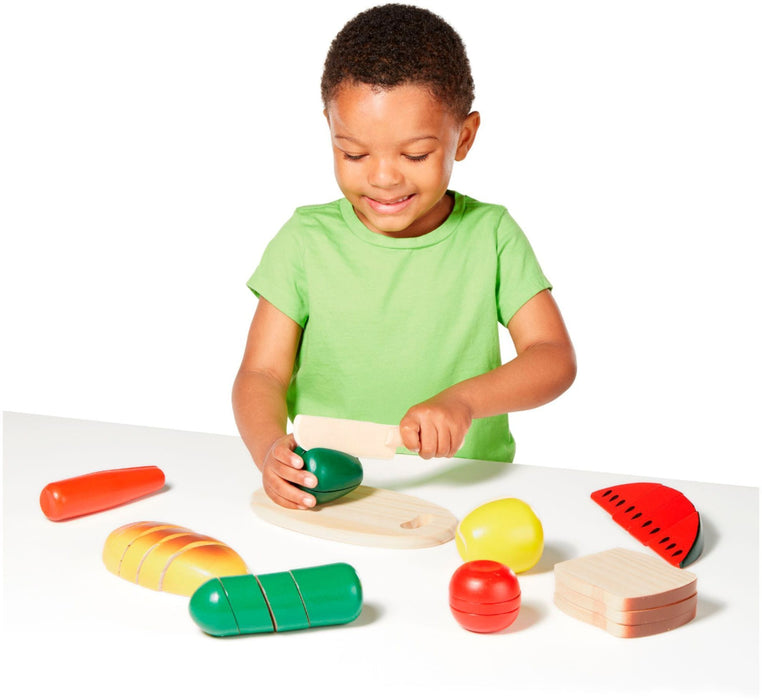 Melissa A Doug 487 Cutting Food, Wooden Play food exxab.com