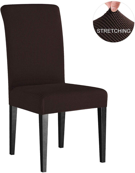 Dining Room Chair Stretch Slipcovers Furniture Protector Covers 2 Pcs exxab.com