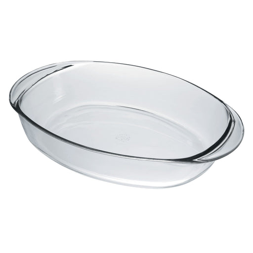 Duralex 6004/5/6 Clear Glass Ovenchef Oval Roasting Dish exxab.com
