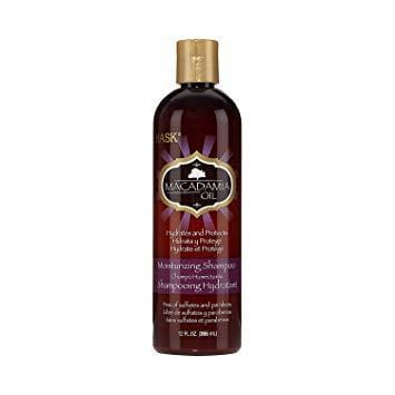 Hask Shampoo Macadamia Oil Moisturizing 12 Ounce 355ml 2 Pack