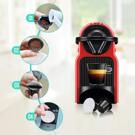 Reusable espresso capsules reusable nespresso compatible original line machines