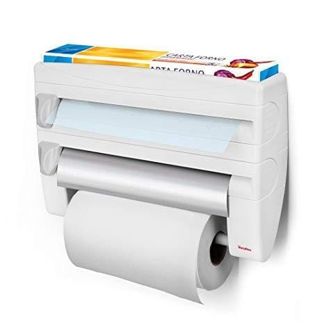 METALTEX ROLL AND KITCHEN ROLL HOLDER DISPENSER
