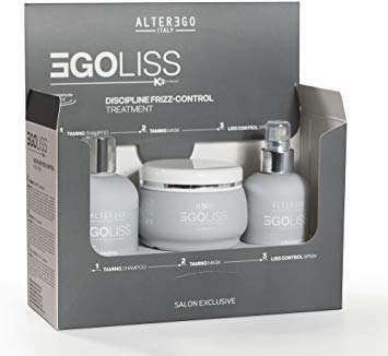 Egoliss Kit for Frizz and Undisciplined hair Set of 3 exxab.com