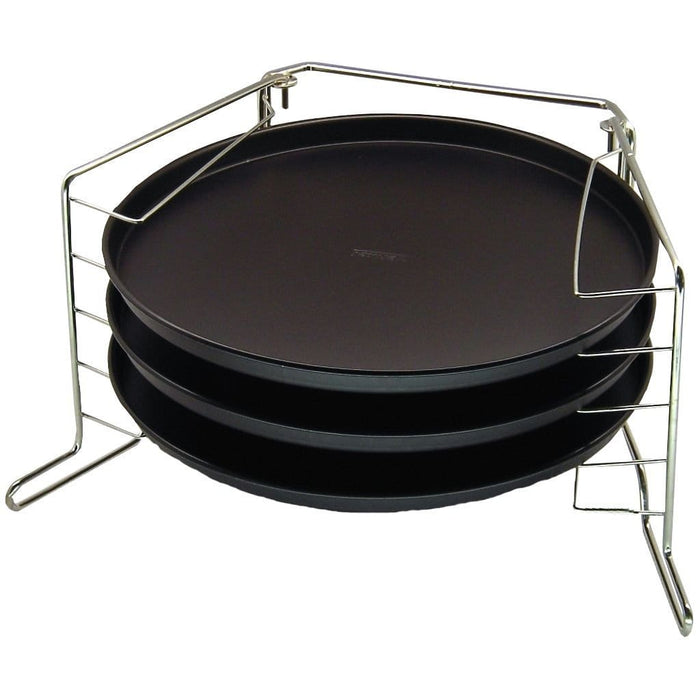 Zenker 7515 Special Countries Three Tiered pizza pan set 29 cm exxab.com
