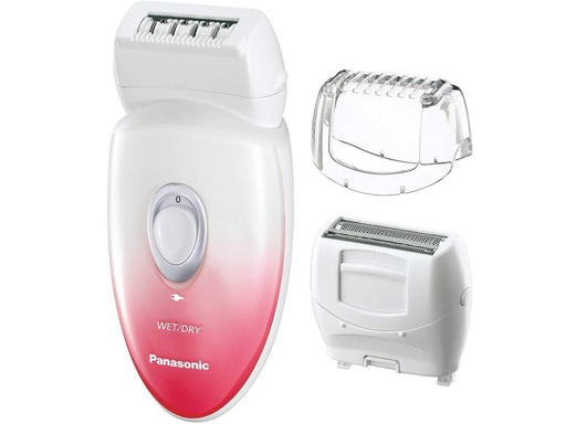 Panasonic ES-EU20 Wet & dry epilator 3 in 1 cordless rechargeable hair remover exxab.com