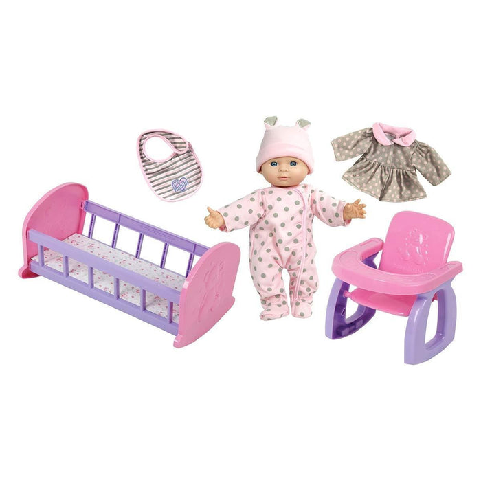 NEW BOY NB912241 BH BASIC - BABY DOLL GIFT SET exxab.com