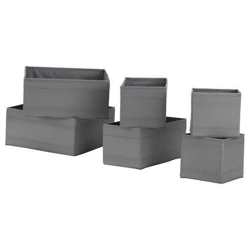 SKUBB Fabric Storage Box Set Of 6 Pieces exxab.com