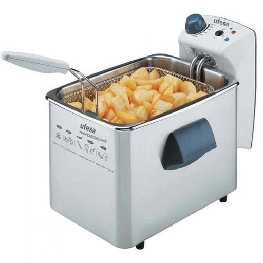 Ufesa FR1225 Stainless Steel Deep Fryer 3 Liter with 2100W