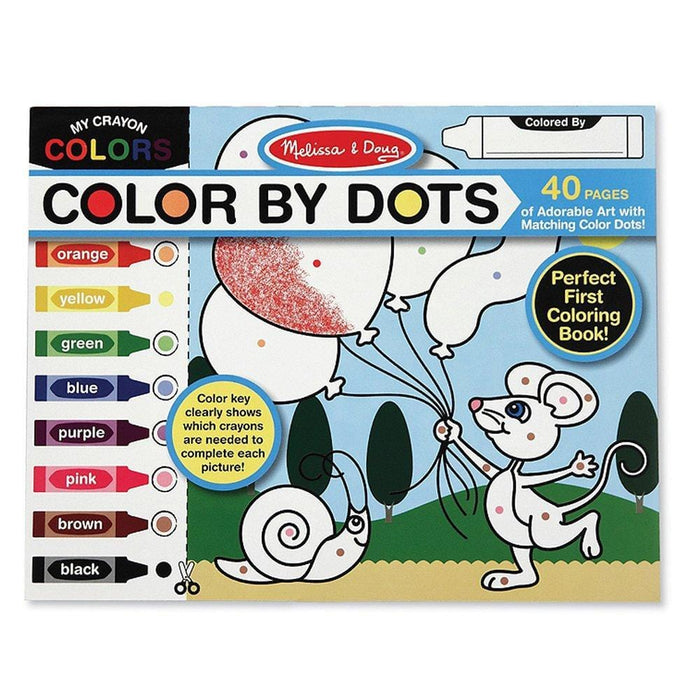 Melissa A Doug 4006 Color by Dots is with 40 unique designs exxab.com