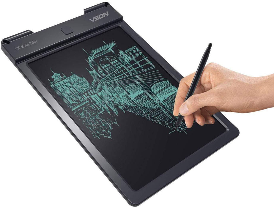 VSON 13 Inch LCD Writing Tablet Board Pad Electronic Writing Tablet exxab.com