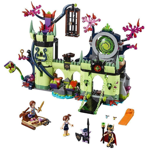 Bela Elves Breakout from the Goblin King's Fortress building blocks