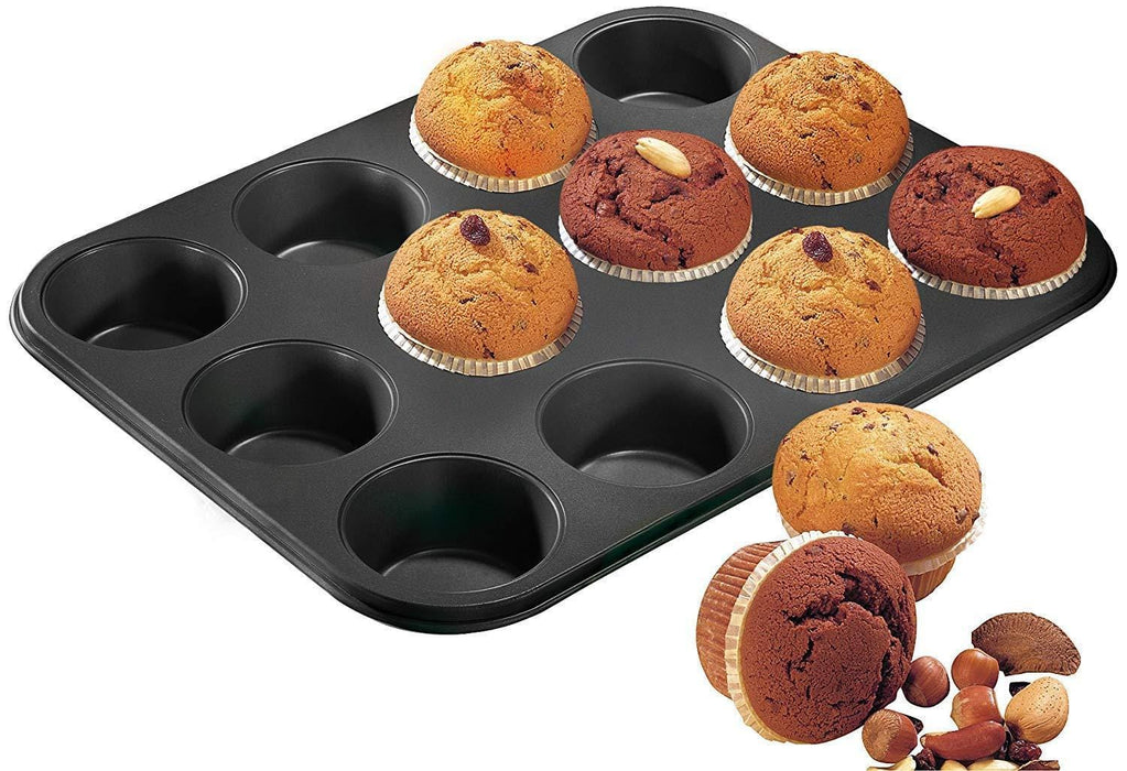 Zenker 6541 muffin tin & cup cakes mold set of 24 oven baking tray exxab.com