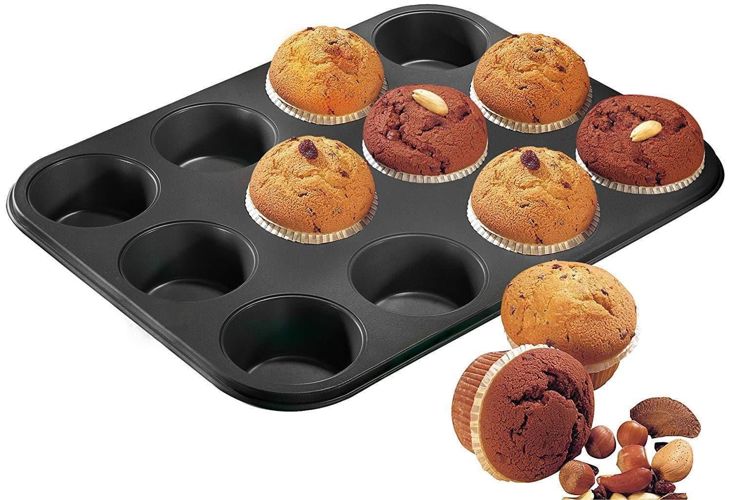 Zenker 6541 muffin tin & cup cakes mold set of 24 oven baking tray - exxab.com