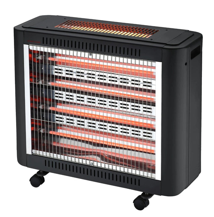 Home Electric Heater HK-4510 2000W Black - exxab.com