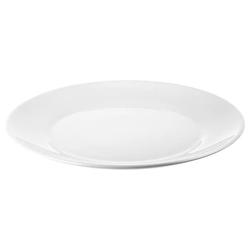 OFTAST White Glass plate Set of 6 Pieces exxab.com