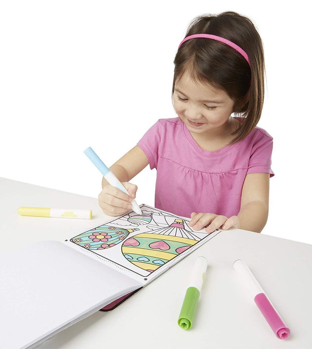 Melissa A Doug 9134 Magic color Coloring Pad, Friends & Fun - exxab.com