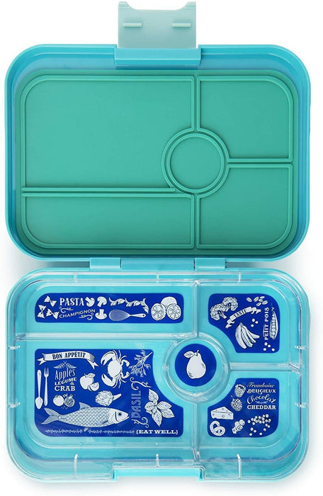 Yumbox Tapas 5 compartment lunch box container - exxab.com