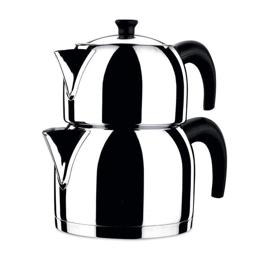 Korkmaz Tea Pot Set 2 Pcs  Orbit exxab.com