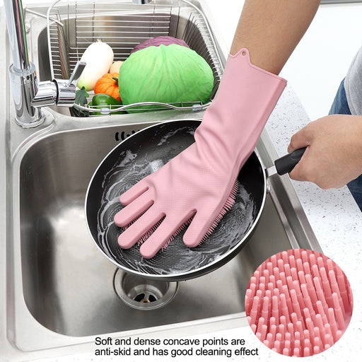 Silicone Glove Brush For Washing And Cleaning 1 Piece exxab.com