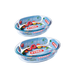 Pyrex 912S943 Irresistible Set of 2 Oval Dish (345B+347B) exxab.com