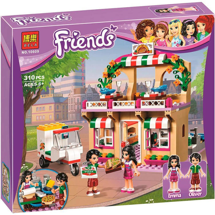Bela Friend The heartlake pizzeria building blocks exxab.com