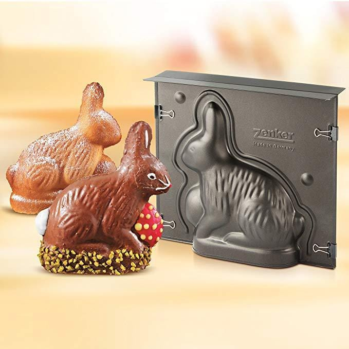 Zenker 9100 Special season 3D non-stick Rabbit baking mold exxab.com